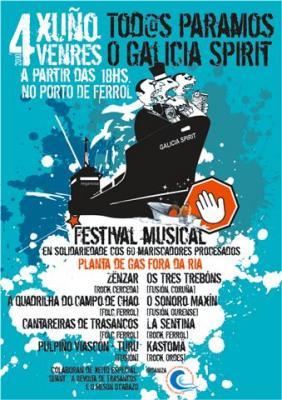 GRAN FESTIVAL MUSICAL. Todo paramos o Galicia Spirit