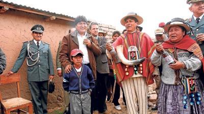 El conflicto de Bolivia es un conflicto de clases